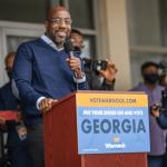 Democrats take control of Senate with win in Georgia Senate runoffs