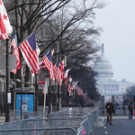 Inauguration rehearsal interrupted by security alert due to nearby fire