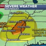 Severe weather to hit South with elevated tornado threat