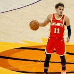 Hawks' Trae Young out next two games with ankle sprain