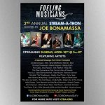 Peter Frampton, Brad Whitford among artists participating in Stream-A-Thon virtual benefit Sunday