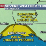 More severe weather expected in Gulf states
