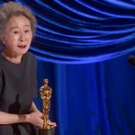 Oscar-winning 'Minari' star Yuh-Jung Youn says don't hold your breath for an on-screen team-up with Brad Pitt