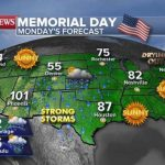 Record-cold temperatures grip Northeast Memorial Day weekend