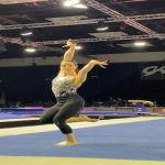Mom of 2 comes out of retirement to compete at US Gymnastics Classic