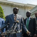 George Floyd's family meets with Biden, lawmakers on policing reform