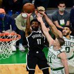 Celtics fan arrested for water bottle incident involving Kyrie Irving