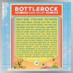 Stevie Nicks, Guns N' Roses, Foo Fighters headlining 2021 BottleRock Napa Valley festival