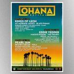 Pearl Jam, Eddie Vedder among confirmed headliners for 2021 Ohana Festival