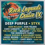Next Rock Legends Cruise rescheduled for February 2022, lineup includes Deep Purple, Styx & more stars