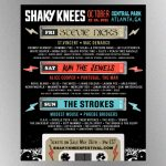 Stevie Nicks, Alice Cooper to perform at the 2021 Shaky Knees Festival in October