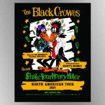 The Black Crowes announce rescheduled dates for 'Shake Your Money Maker' tour