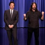 Dave Grohl co-hosts 'The Tonight Show' with Jimmy Fallon