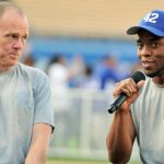 """42 director Brian Helgeland says the late Chadwick Boseman """"arrived ready"""""""