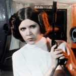 On 'Star Wars' Day, Carrie Fisher's daughter Billie Lourd posts pic of son watching grandma in 'A New Hope'