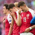 Danish soccer star Christian Eriksen collapses on field, in stable condition