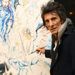 Ronnie Wood selling personalized prints of new Rolling Stones-themed portraits in honor of his 74th birthday