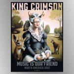 "King Crimson announces 2021 US summer trek called the ""Music Is Our Friend"" tour"