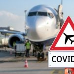 Police officers line tarmac as fellow officer flown out-of-state for COVID-19 treatment