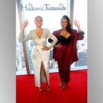 Jennifer Hudson celebrates 40th birthday with her Madame Tussauds wax figure