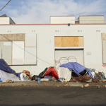 How one woman brought makeovers, food and love to Los Angeles' homeless community