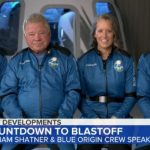 Touchdown! Blue Origin rocket, carrying William Shatner, blasts into space and lands safely