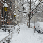 Boston and NY flights canceled and vaccine distribution halted as major Nor'easter hits East Coast