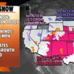 New storm brings fire danger, strong winds, snow and possible tornadoes