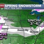 Winter storm moving from Rockies to Midwest as flooding rain hits Florida