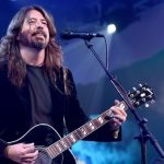 Dave Grohl rolls up to 'Jimmy Kimmel Live!' in the original Foo Fighters' touring van