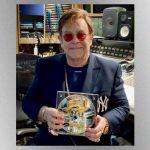 Rocket Mint: Elton John auctioning off unique silver medallion for charity