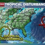 Ana, forming in the Atlantic, becomes 1st named storm of hurricane season