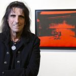 Alice Cooper auctioning off an Andy Warhol artwork he totally forgot he owned