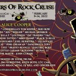 Alice Cooper now confirmed to headline 2022 Monsters of Rock Cruise, scheduled for next February