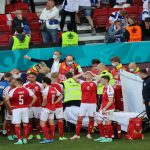 Soccer star Christian Eriksen sends 'greetings' to teammates after Euro 2020 collapse