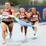 American women's 1500 meter track record holder banned over pork