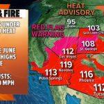 Dangerous heat wave hits the West: Latest forecast