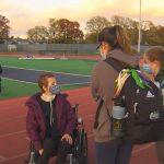 High school track team rallies around teammate with cancer