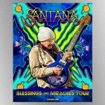 Santana announces 2021 Blessings and Miracles Tour, named after band's upcoming album