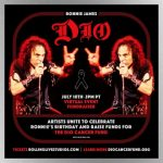 Streaming event announced to celebrate Ronnie James Dio's birthday