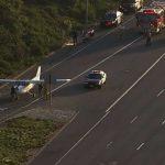 Flight instructor, student make daring emergency landing on California highway