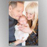 Sweet Child! Ex-GN'R drummer Matt Sorum and wife welcome baby daughter, Lou Ellington Sorum