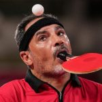 Egyptian table tennis athlete, and amputee, captures hearts in Tokyo Paralympics