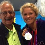 Olympian Elizabeth Beisel aims to become first woman to complete historic swim in honor of her late father