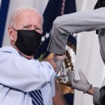 Biden gets COVID-19 booster shot before cameras, pushes vaccinations