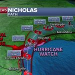 Tropical Storm Nicholas closes in on Texas, hurricane watch issued: Latest forecast